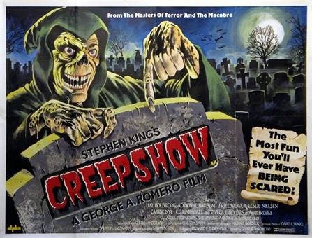British George A. Romero Stephen King Creepshow movie poster.