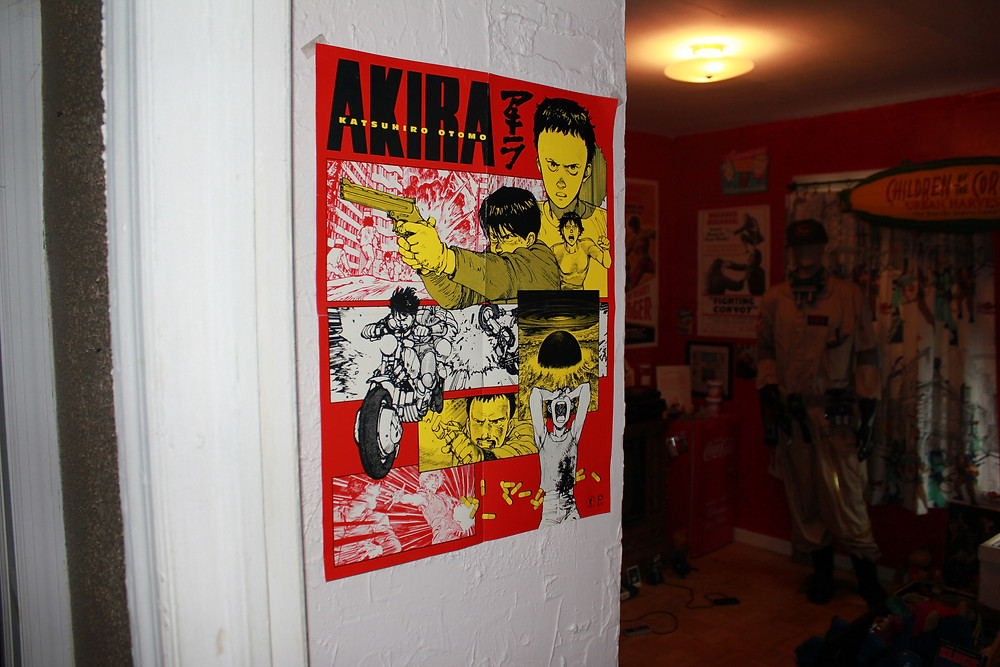 Darkhorse Comics Akira promo poster.