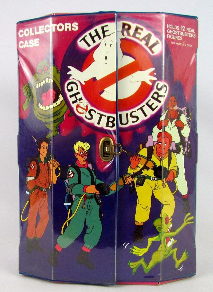 Kenner The Real Ghostbusters action figure case.