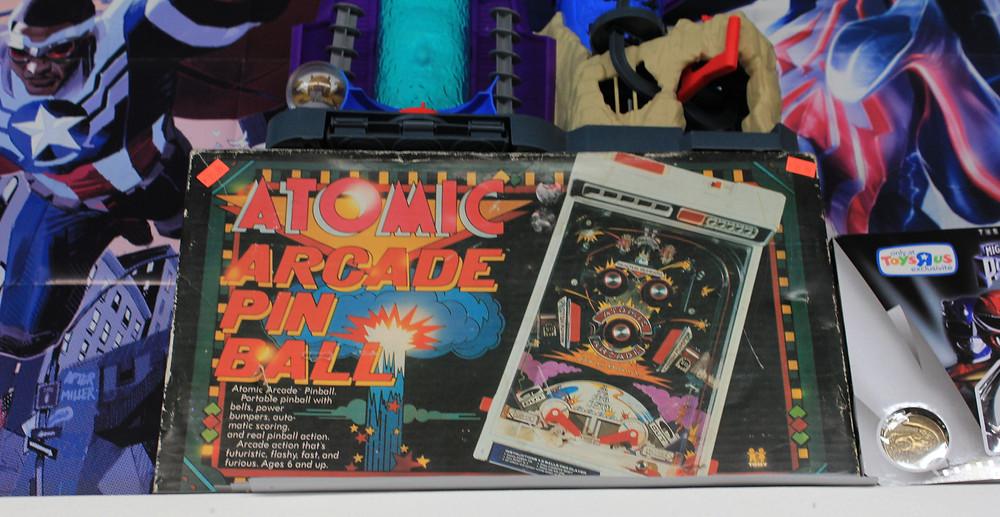 Tomy Atomic Arcade pinball