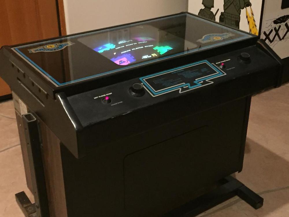 Atari Warlords cocktail table arcade game