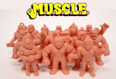 A group of M.U.S.C.L.E. creatures.