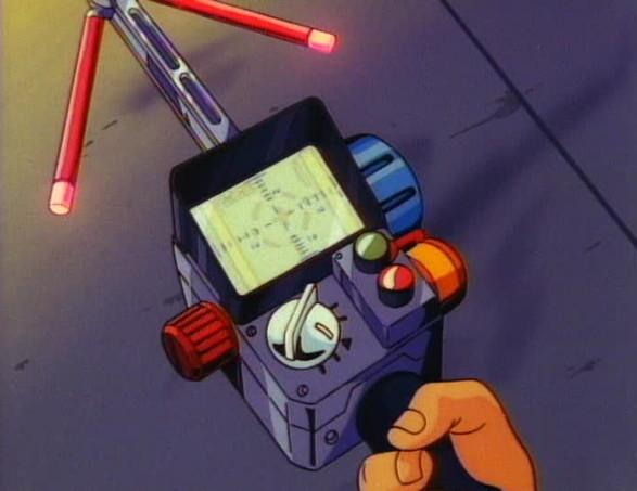 The Real Ghostbusters PKE meter.