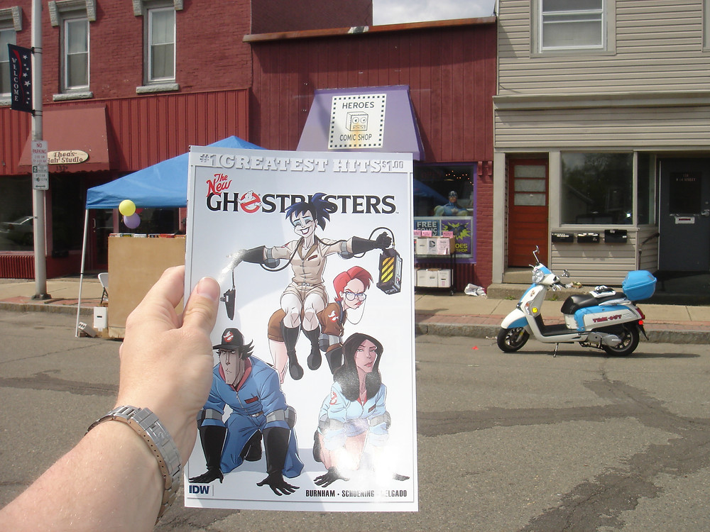 Free Comic Book Day. IDW The New Ghostbusters comic book.