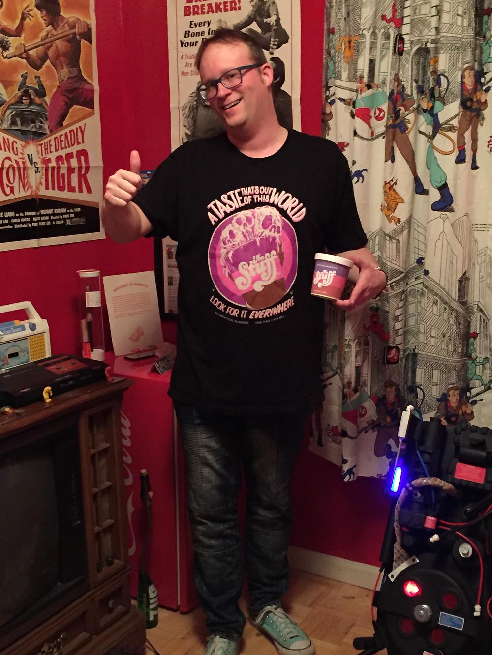 Larry Cohen The Stuff t-shirt.