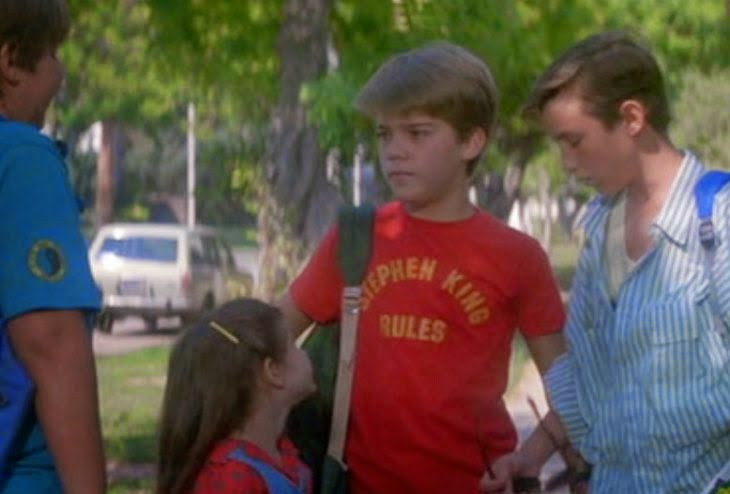 Steven King Rules shirt, from The Monster Squad.