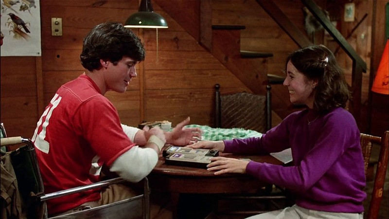 Milton-Bradley Microvision in Friday the 13th Part 2