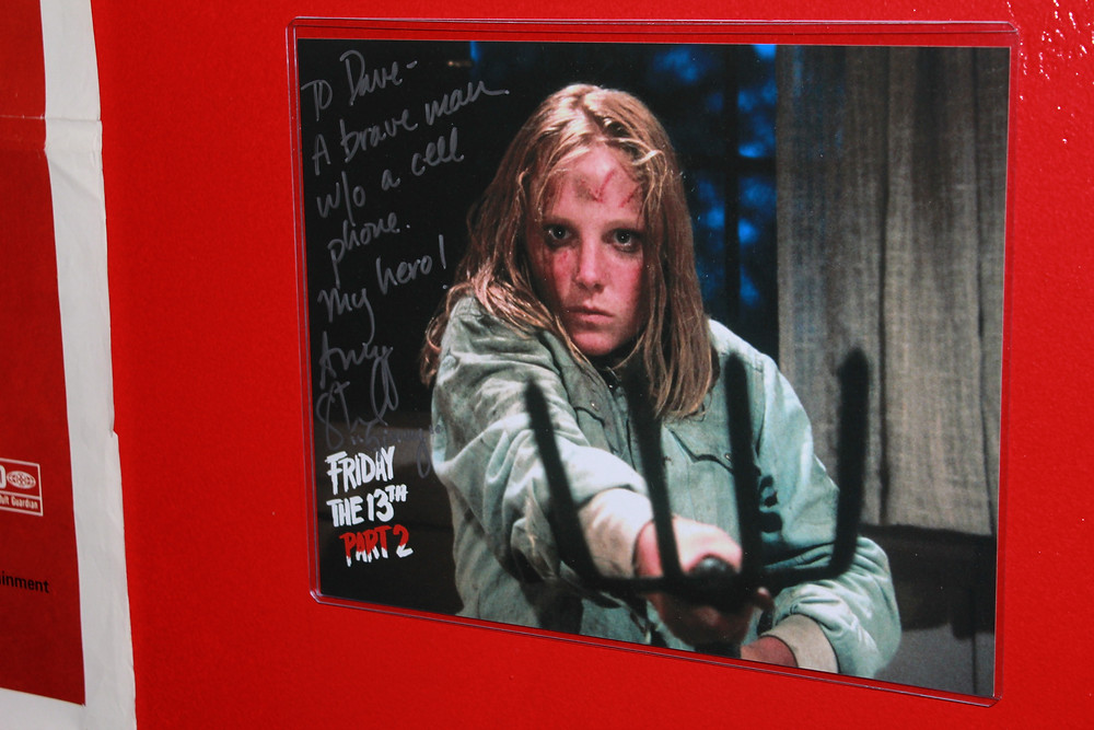 Amy Steel Friday the 13th Part 2 autograph