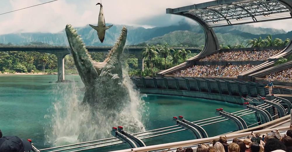 Jurassic World Bad CGI