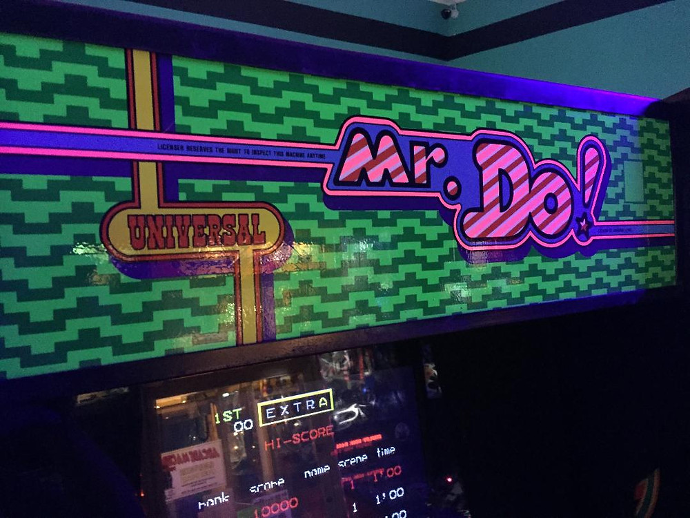Universal Mr. Do! arcade game in a Centuri Phoenix cabinet coversion.