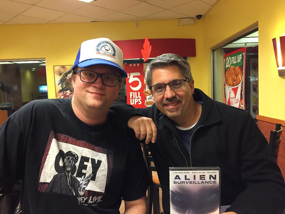 Filmmaker Mark Polonia and Retro Injection blogger Dave Fife.