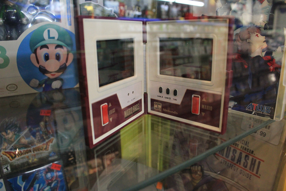 Mario Bros. Nintendo Game and Watch