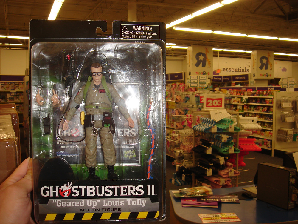 Ghostbusters II Louis Tully Diamond Select figure.