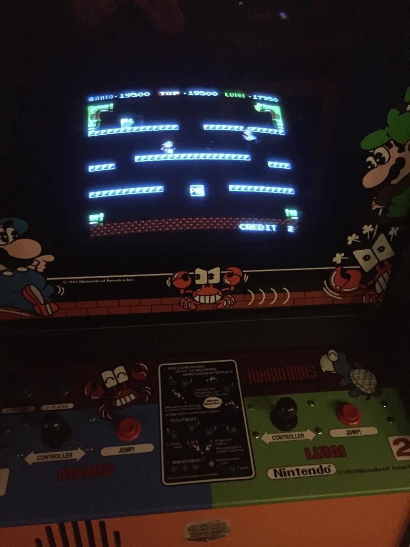 Nintendo Mario Bros. arcade game
