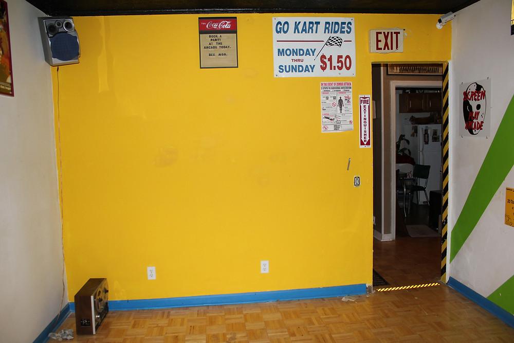 Empty arcade
