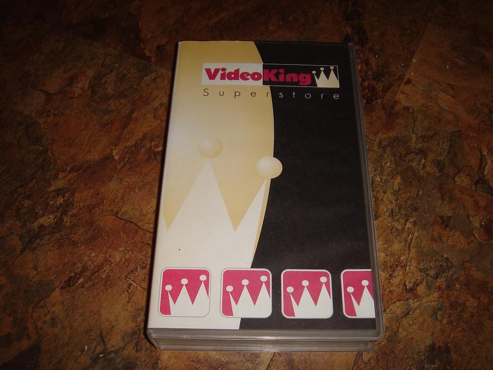 Video King VHS rental tape.