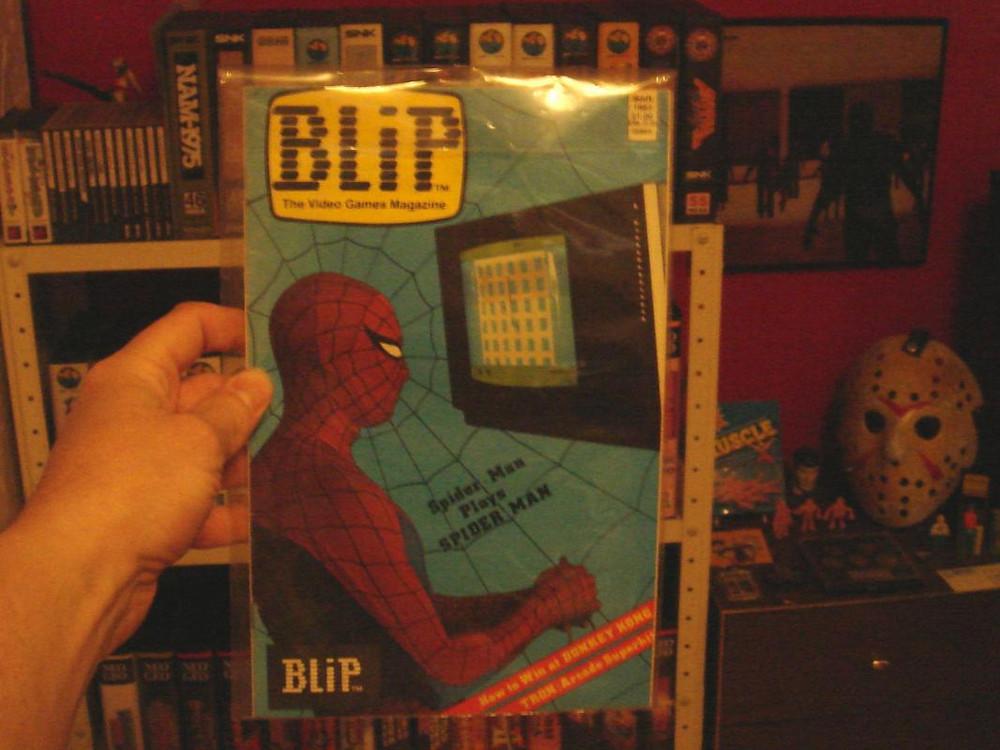 Marvel Blip magazine Spiderman Atari 2600