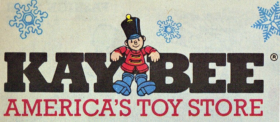 Kay-Bee Toy Stores logo.