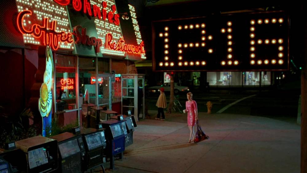 """Johnie's Coffee Shop as seen in the sci-fi film """"Miracle Mile."""""""