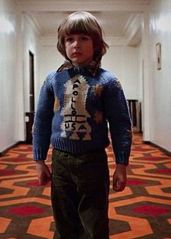 Character Danny Torrance in Stanley Kubrick's The Shining.