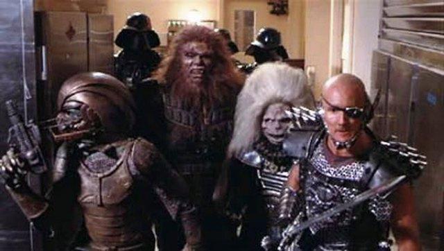 Skelator's troops in Masters of the Universe movie 1978.