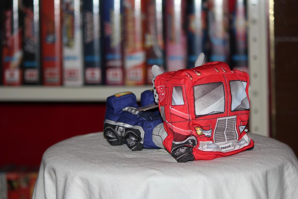G-1 Optimus Prime Softimus Prime plush.
