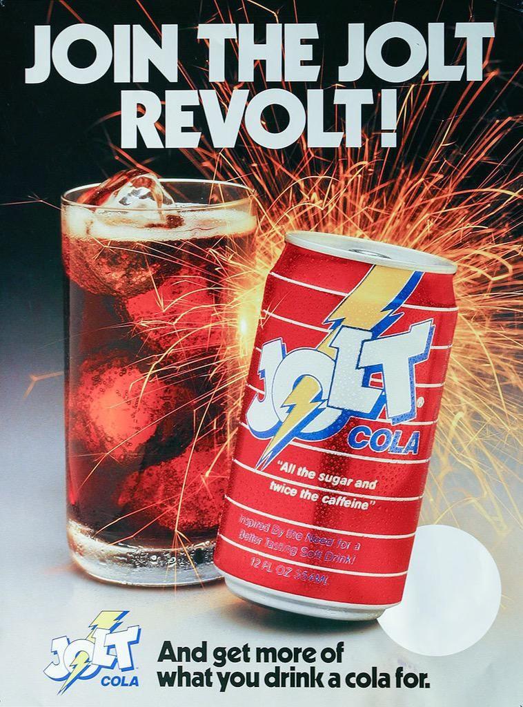 '90s Jolt Cola ad.