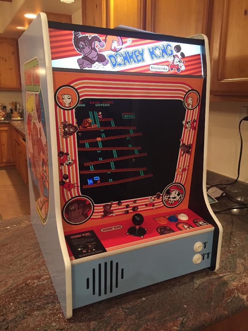 tabletop Nintendo Donkey Kong LCD multigame