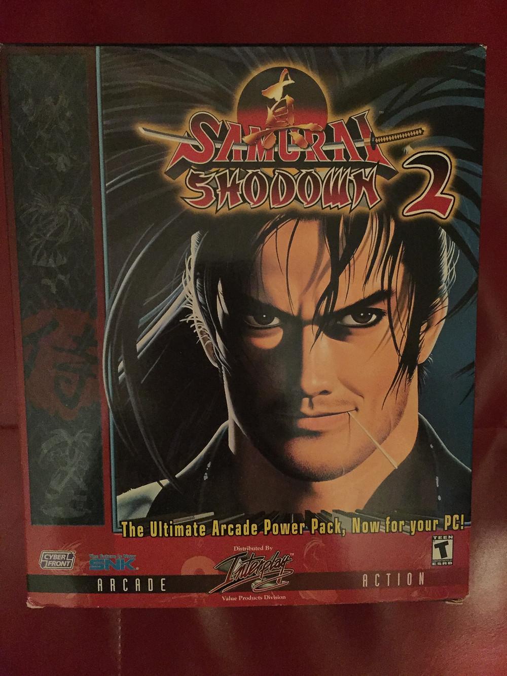 Neo-Geo Samurai Shodown 2 PC CD-ROM