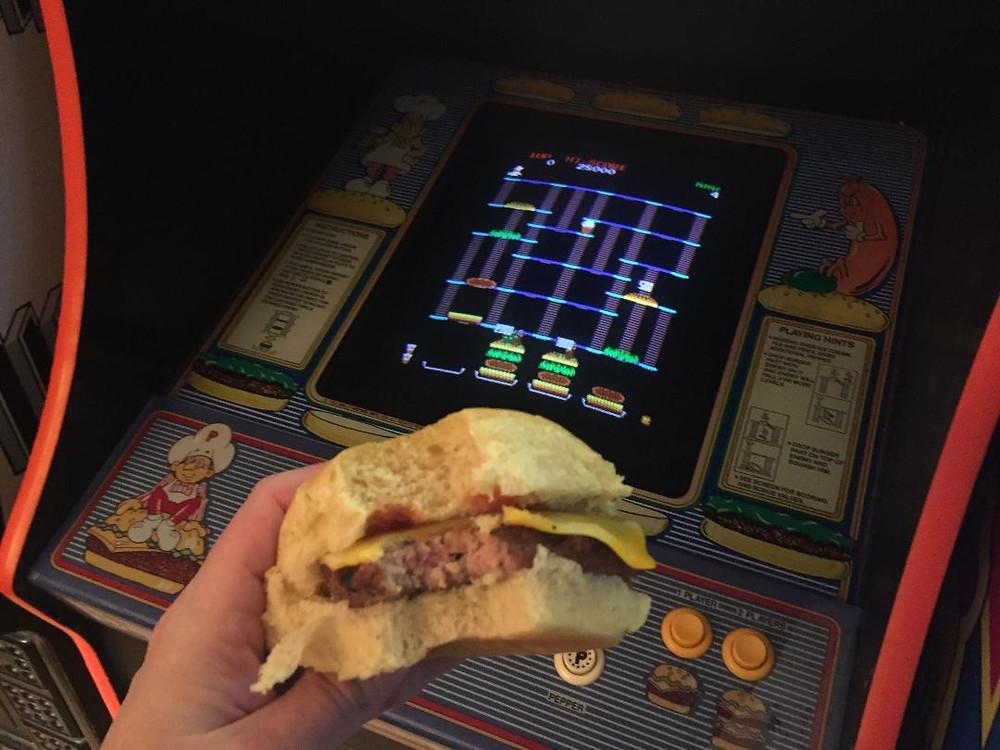 Bally Data East Burgertime arcade game