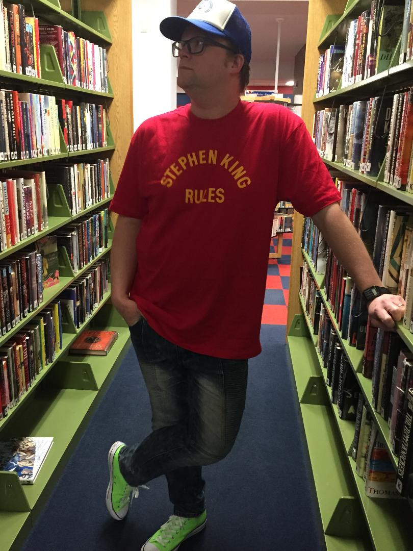 Stephen King Rules tee from founditemclothing.com