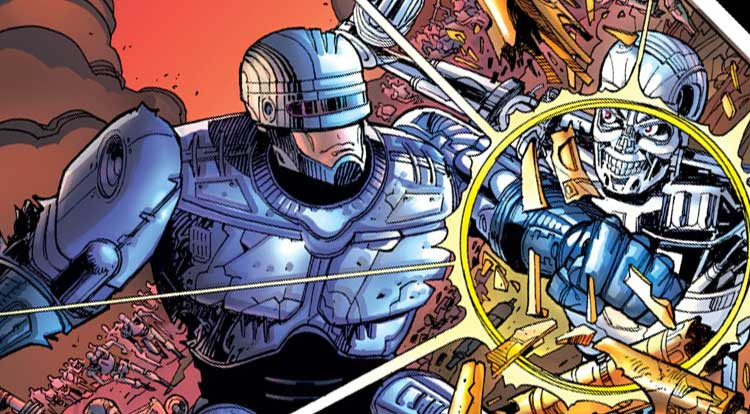 Dark Horse Comics Robocop Vs. The Terminator.