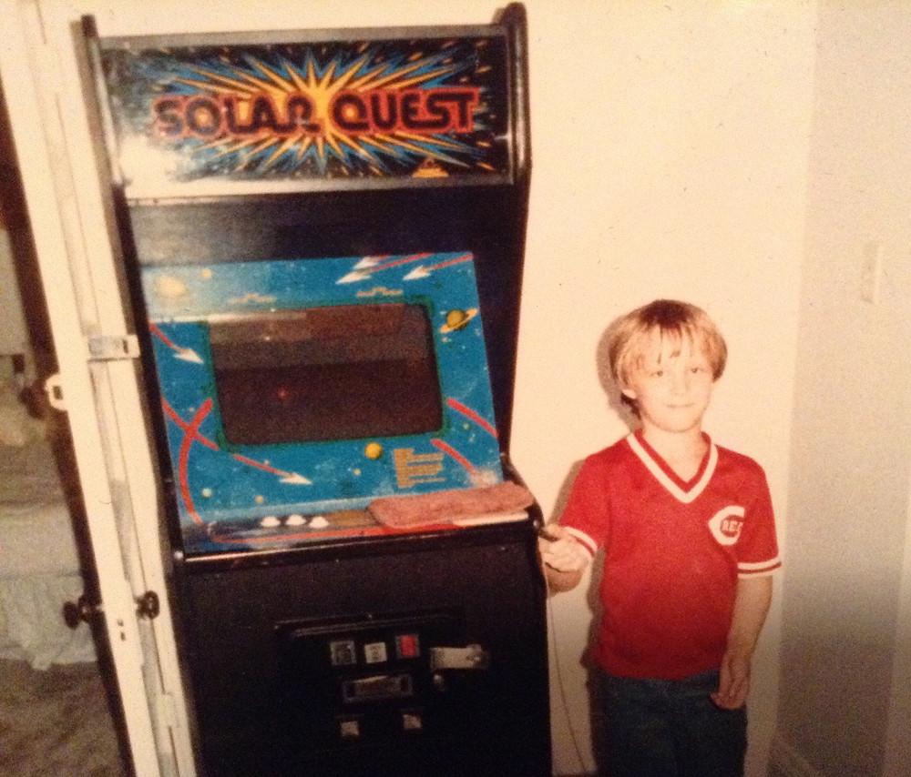 Cinamatronics Solar Quest arcade game.