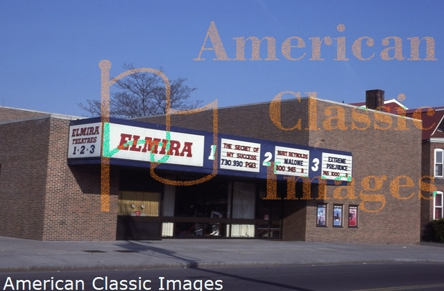 Elmira 1-2-3 Theater in 1987.