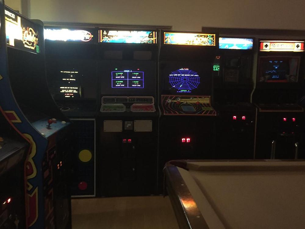Atari vector arcade games