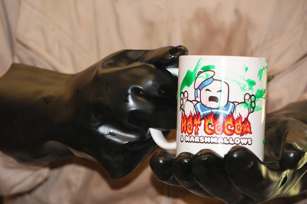 Stay-Puft Marshmallow Man mug, from nerdmug.com.