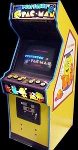 Professor PAC-MAN arcade machine