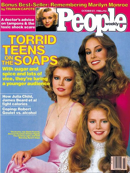 Kelli Maroney on the cover of October 1980 People Magazine.