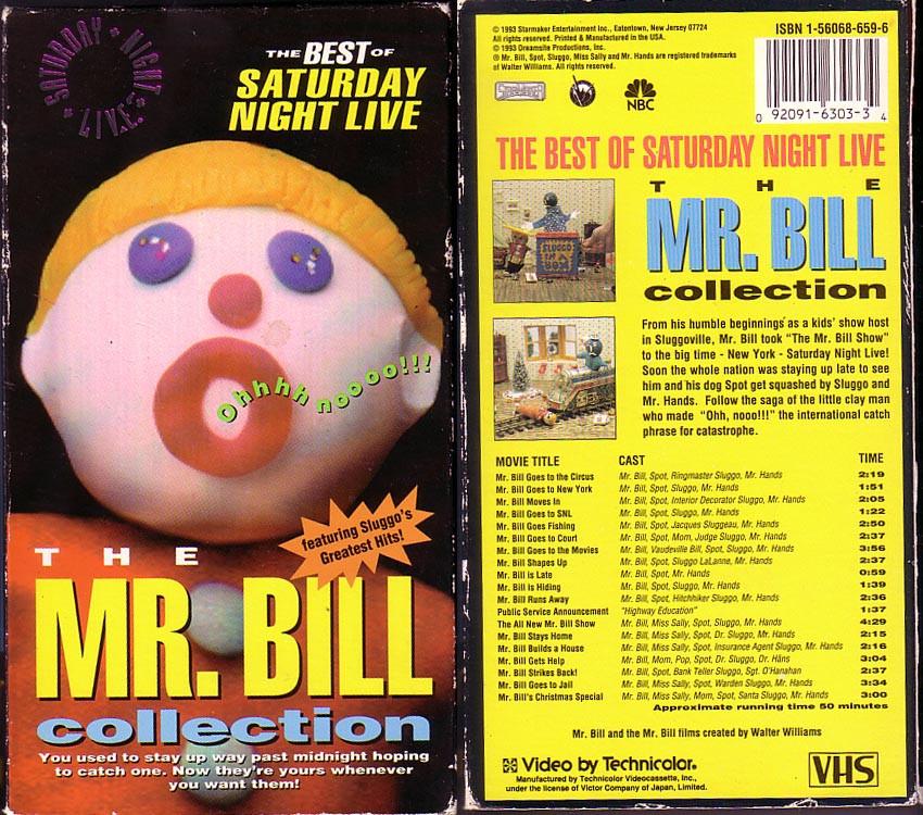 Mr. Bill VHS tape