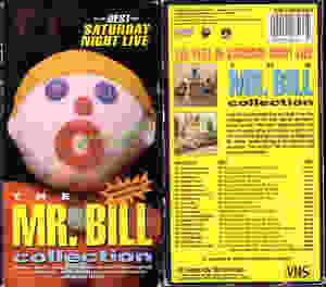 Mr. Bill VHS tape