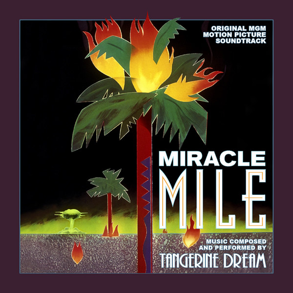 Miracle Mile Tangerine Dream sountrack CD.