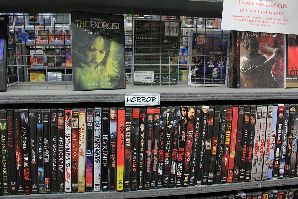 Horror movies at Sound Go Round in Vestal, NY