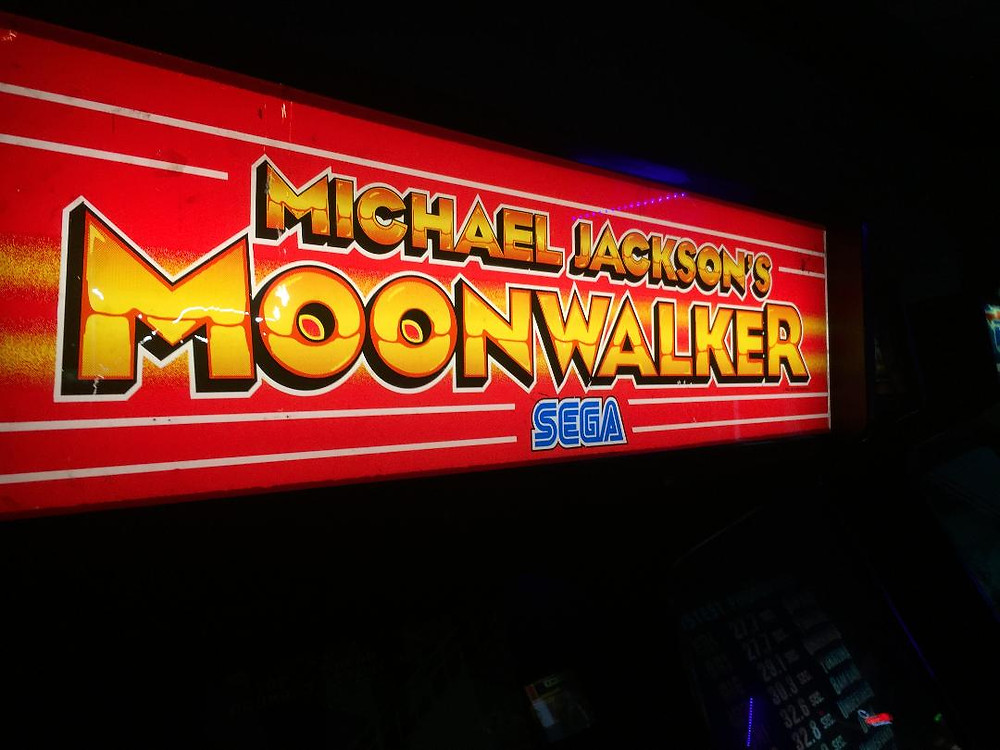 Michael Jackson's Moonwalker Sega arcade game.