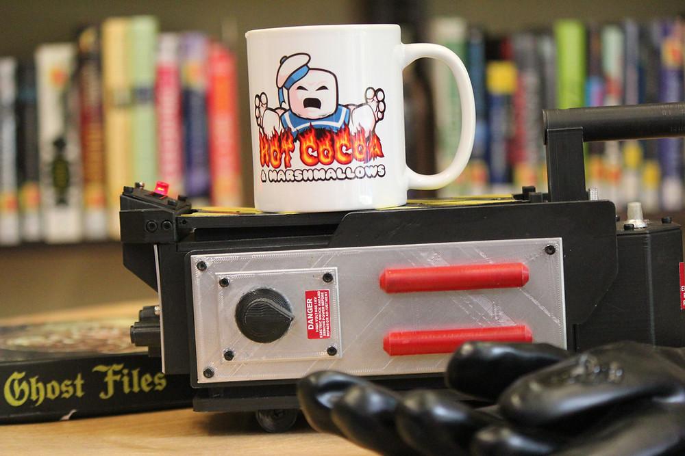 Stay-Puft Marshmallow Man mug from nerdmug.com