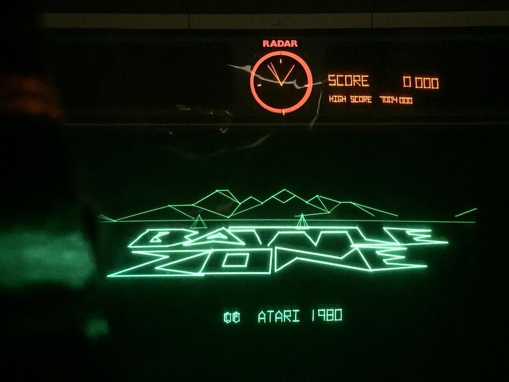 Atari Battlezone vector arcade game