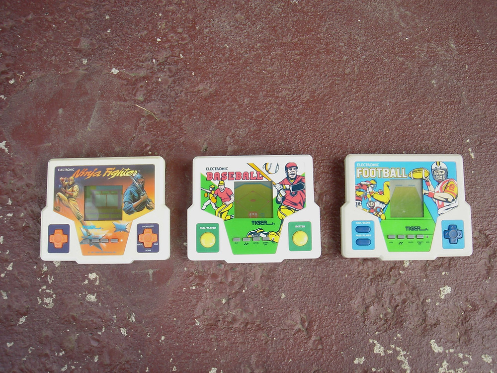 Tiger LCD handheld games.