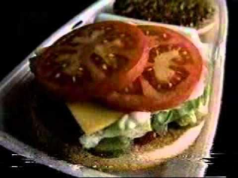 80s McDonald's McDLT burger commercial ad.