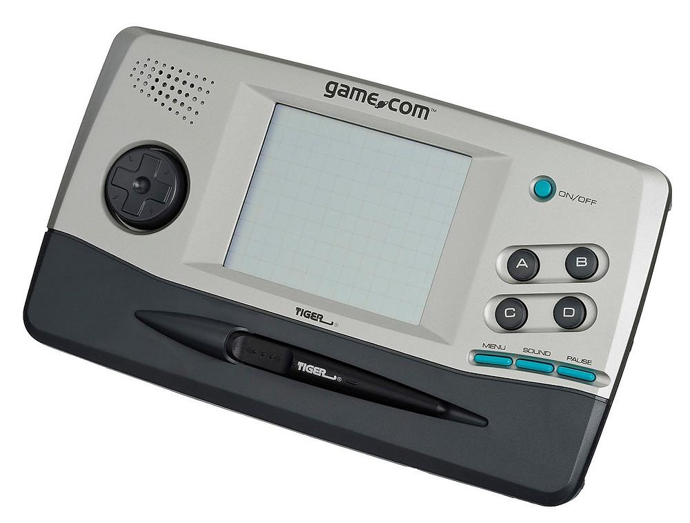 Tiger Game.com handheld videogame system.