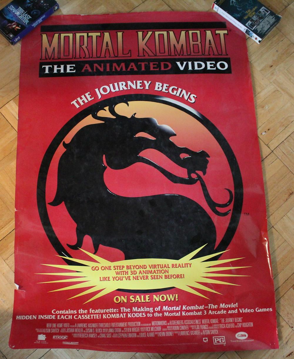 Mortal Kombat the Animated Video poster