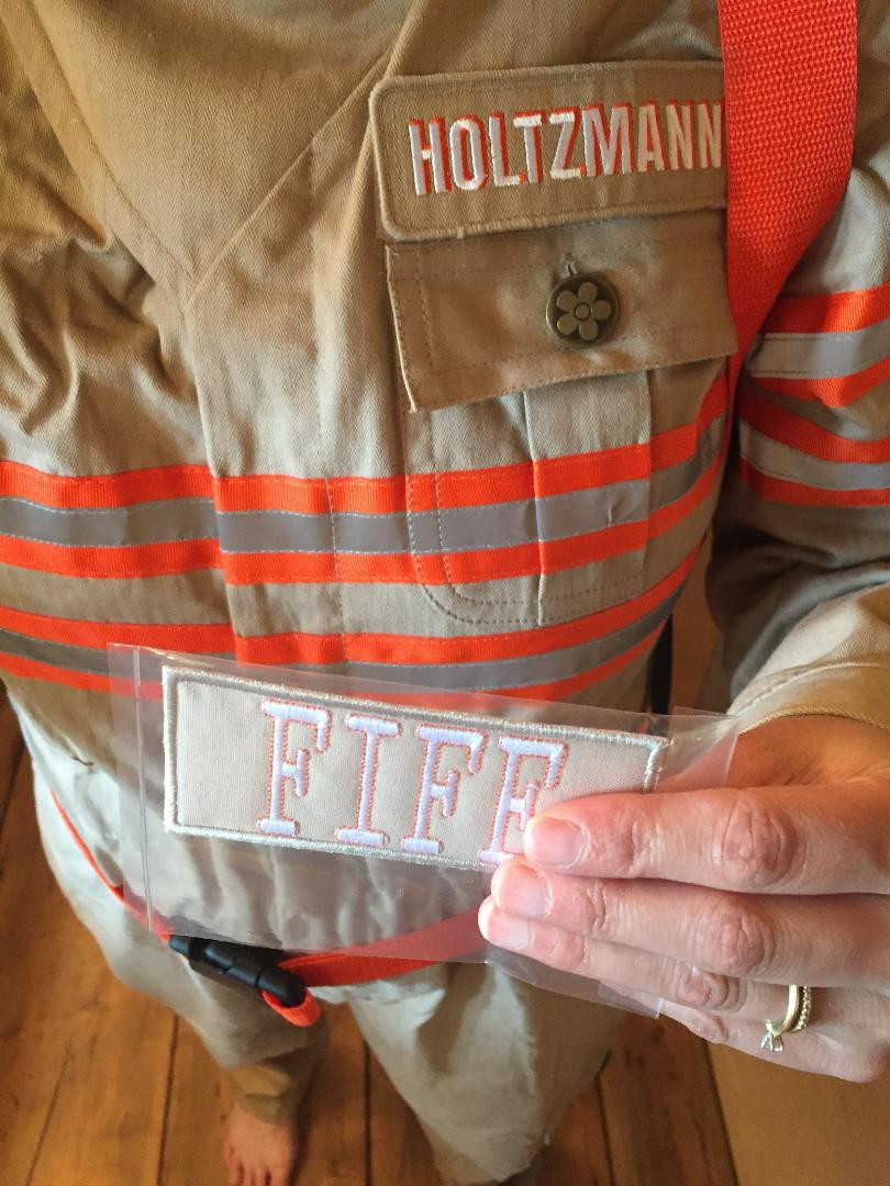 Custom Ghostbuster patch for 2016 female reboot uniform.